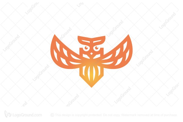 Logo for sale: Flying Owl Logo