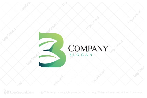 Logo for sale: B Leaves Logo