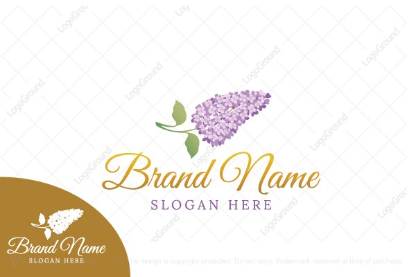 Logo for sale: Lilac Logo