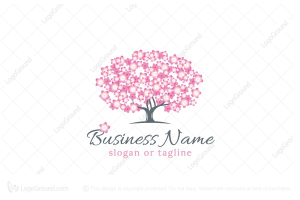 Logo for sale: Blooming Tree Logo