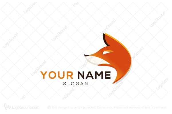 Logo for sale: Fox Head Logo
