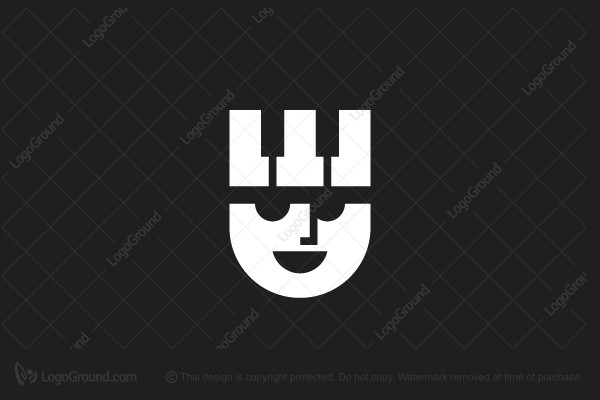 Logo for sale: Piano King Logo