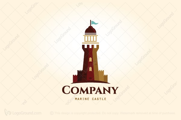 Logo for sale: Marine Castle Logo