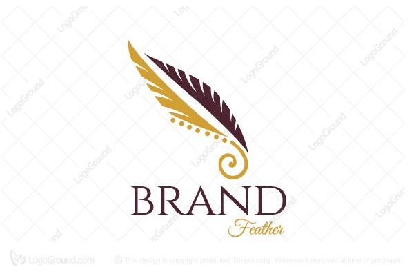 Logo for sale: Feather Logo