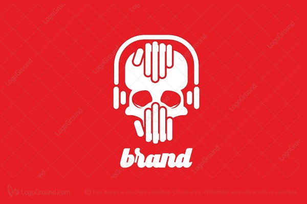 Logo for sale: Skulls Music Logo