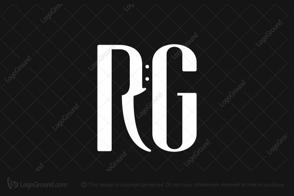 Logo for sale: RG GR Knife Logo