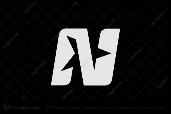 Nort N Star Monogram Letter Logo