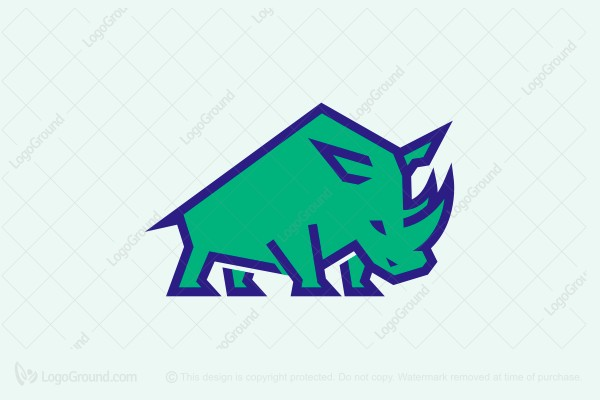 Logo for sale: Strong Rhino Logo