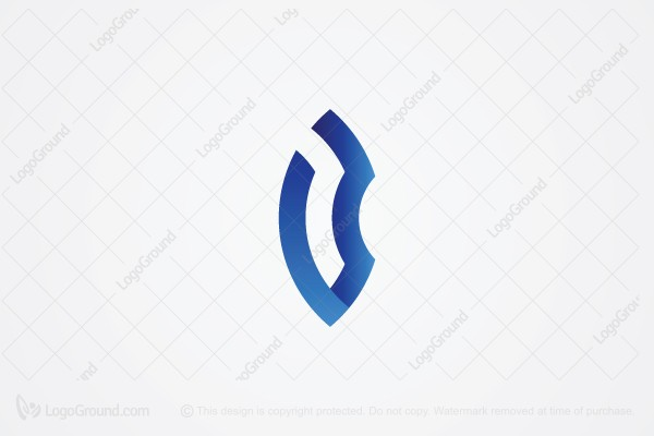 Logo for sale: Letter v & b Abstract