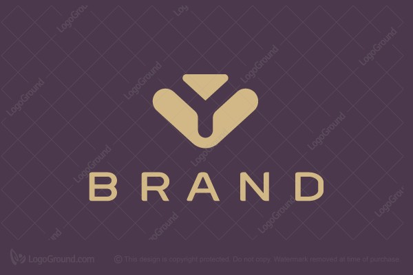 Logo for sale: Elegant Letter Y Logo