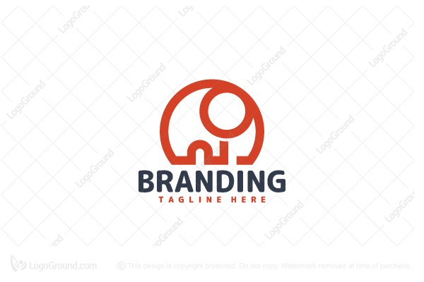 Logo for sale: Minimalist Elephant Logo