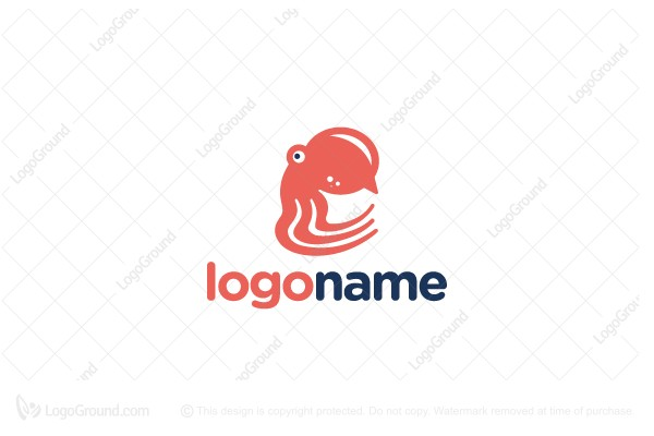 Logo for sale: Octo Chat Logo
