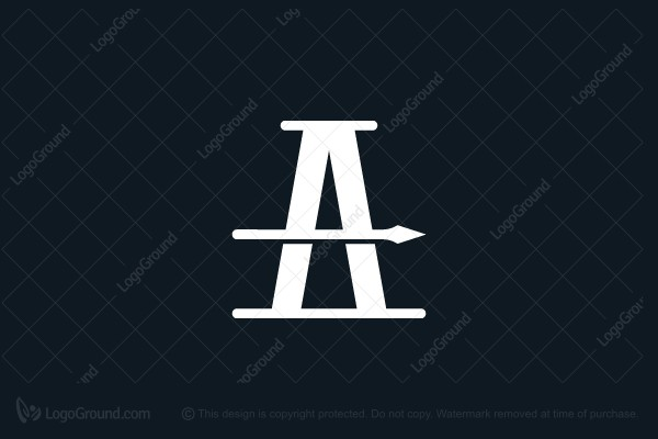 Logo for sale: A Spear Logo