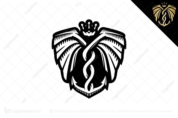 Logo for sale: King Of Anchor Logo
