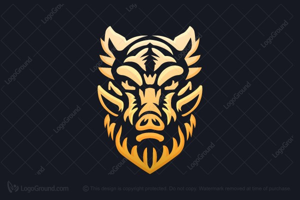 Logo for sale: Wild Boar Fire Logo