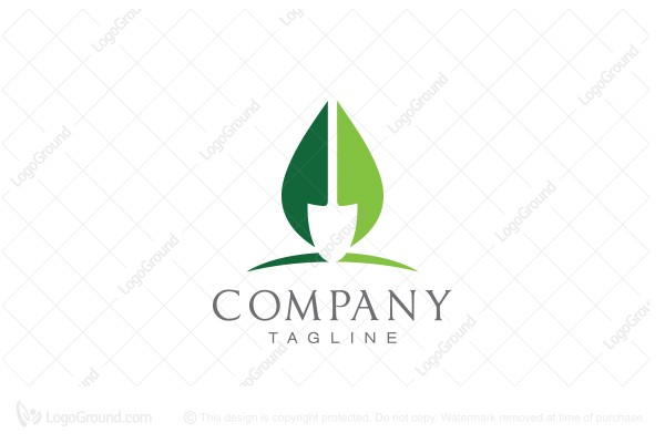 Logo for sale: Eco Shovel Logo