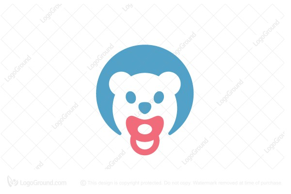 Logo for sale: Baby Bear Logo