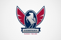 Winged Horse Logo
