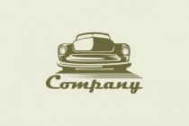 Car Retro Logo