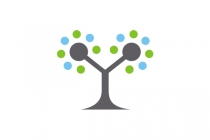 Dot Tree Logo