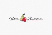Pear And Apple Logo