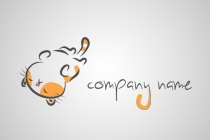 Playful Cat Logo