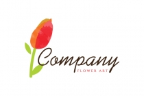 Flower Art Logo