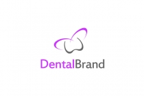 Dental Butterfly Logo