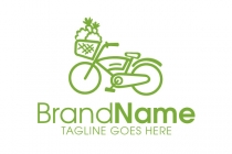 Bike Vegan Logo