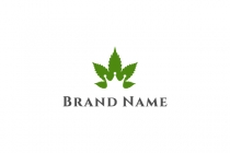 King Marijuana Logo