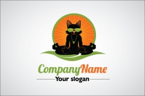 Cool Cat Yoga Logo