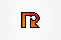 R Letter + Arrow Logo