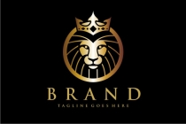 Golden Head Lion Logo