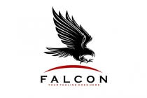 Black Falcon  Logo