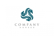 Three Horses Logo