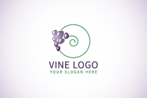 PNG Logo: Minimal Grape - Vine...