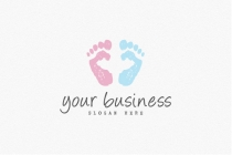 Baby Footprint Logo