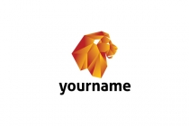 Paper Lion Head Logo