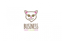 Cat Head Logo