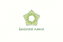 Natural Flower Logo
