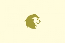 Lion Portrait Logo