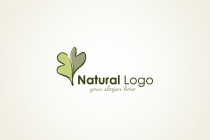Lovely Oak Leaf Logo