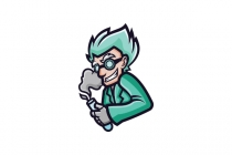 Mad Scientist Mascot...