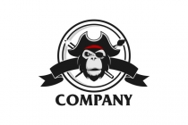 PNG Logo: Pirate Monkey Logo