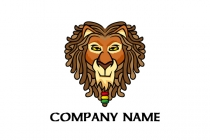 Love Lion Logo