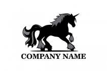 Black Unicorn Logo