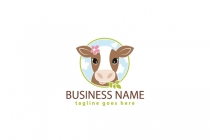 Adorable Calf Logo