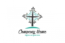 Glory Tree Cross Logo