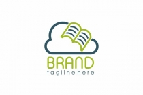 Book And Cloud Logo