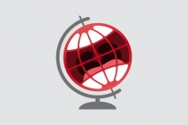Laughing Globe Logo